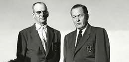 Clifford Roberts and Bobby Jones